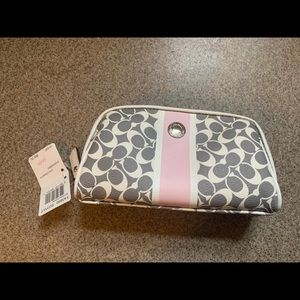 Coach Cosmetic Bag!! Brand new with tags!!